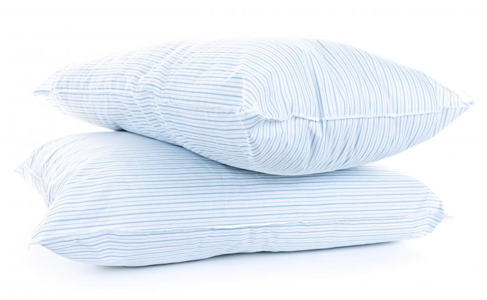 With some creative folding and tucking, a king size pillow case can easily be made to fit a standard size pillow.