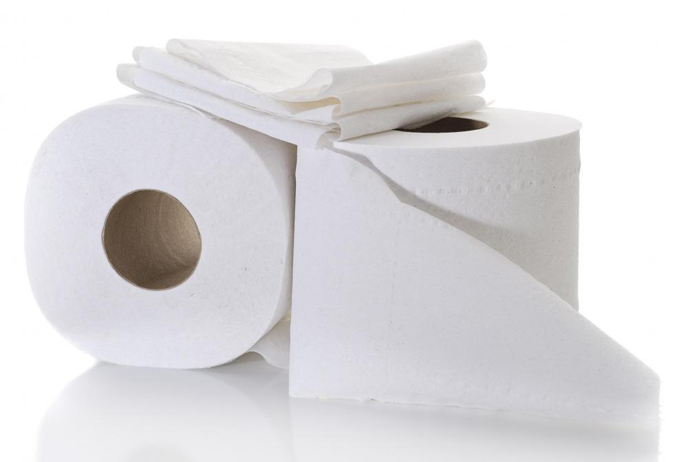 Toilet paper can be used for a variety of things when camping.