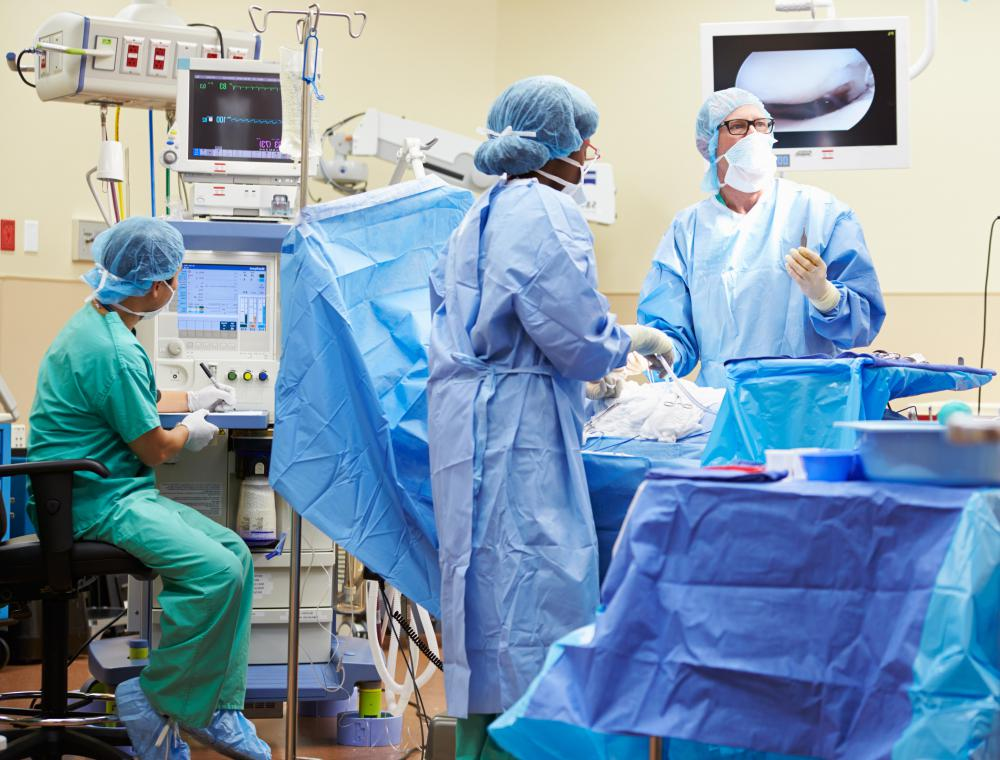 A surgeon who is negligent during surgery may face charges.
