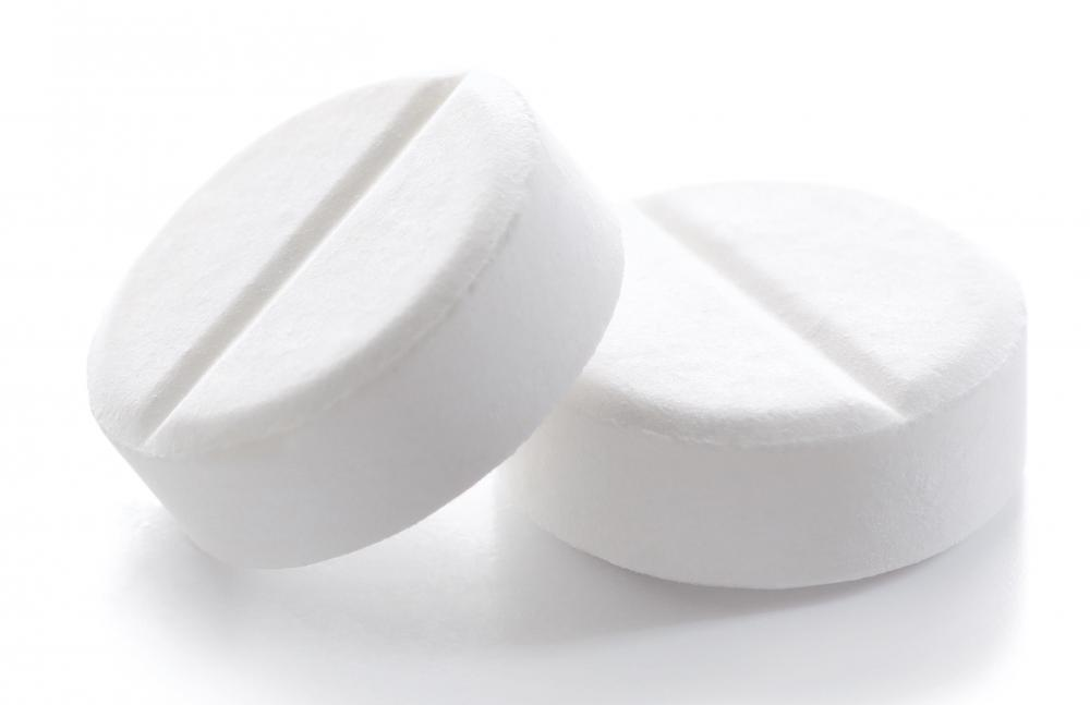 An adult would have to inject 20 or more aspirin tablets to experience an acute aspirin overdose.