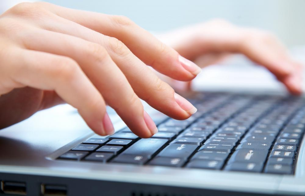 Typing can cause carpal tunnel syndrome if done incorrectly.