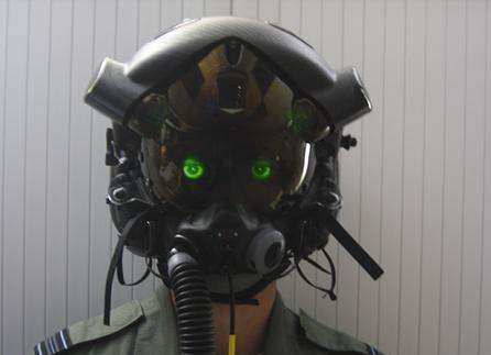 Fighter pilot helmets offer protection as well as advanced electronics to help simplify flying.