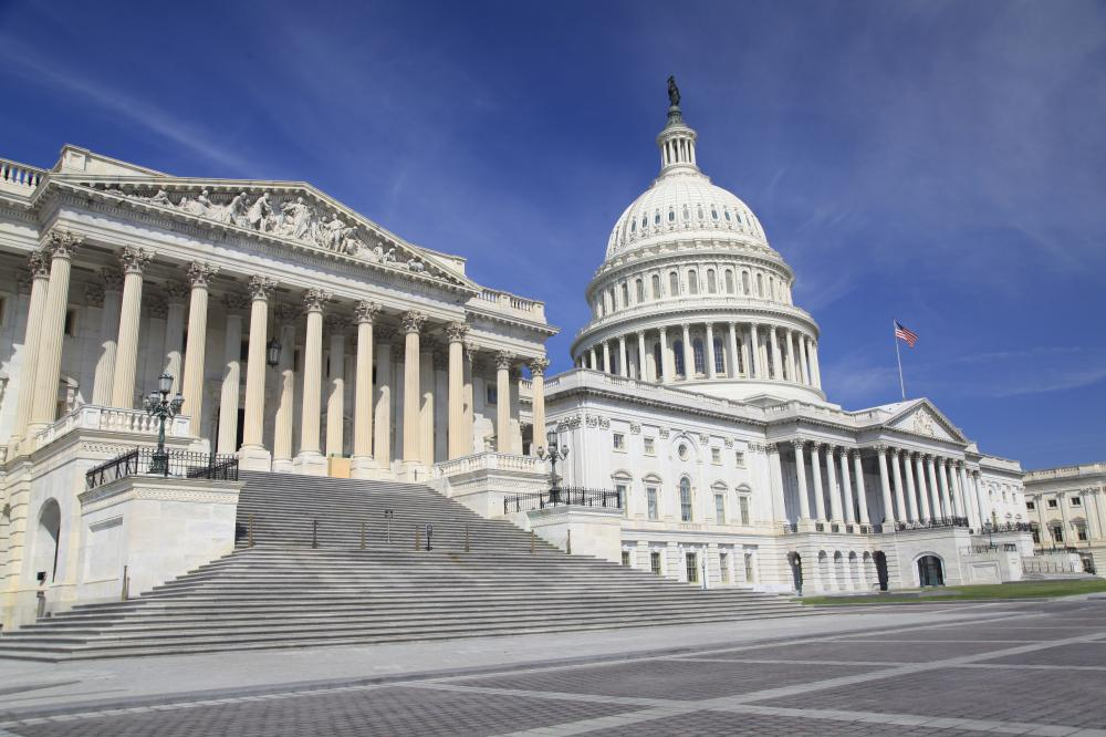 The United States Capitol is a National Historic Landmark noted in the National Historic Register.