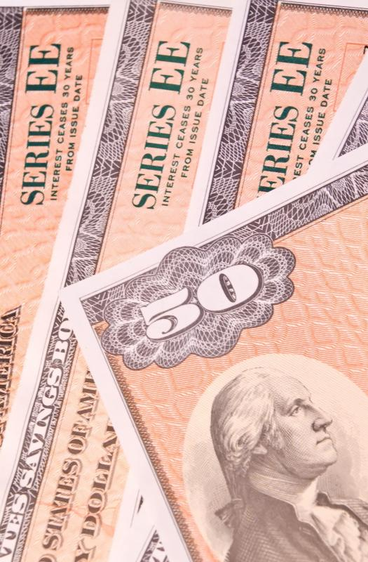Series EE savings bonds are one type of government bond.