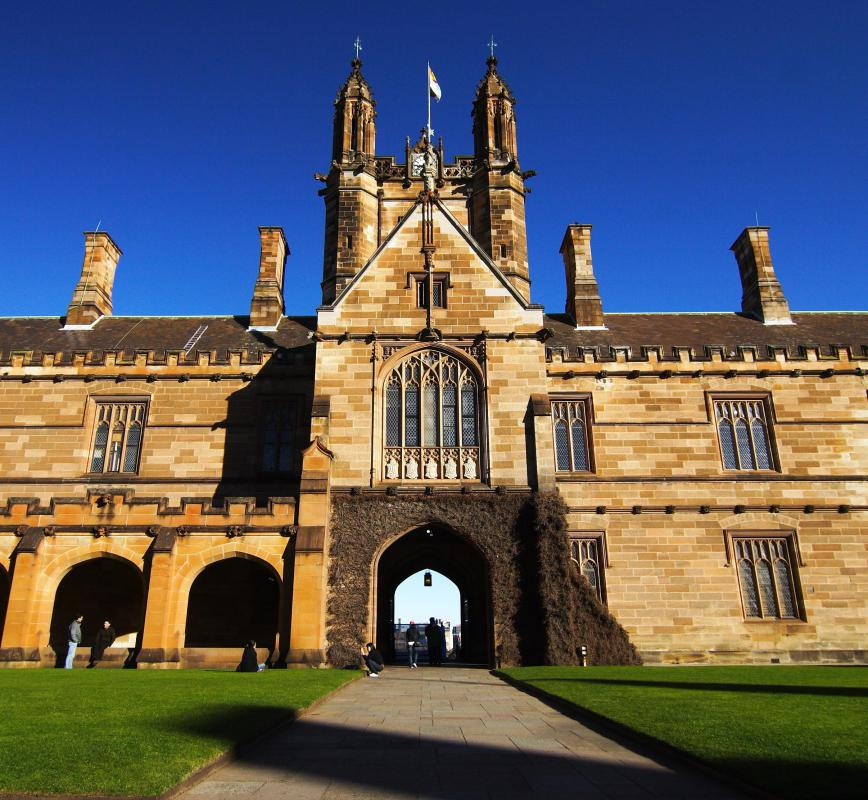 The University of Sydney in Australia was built in 1850.