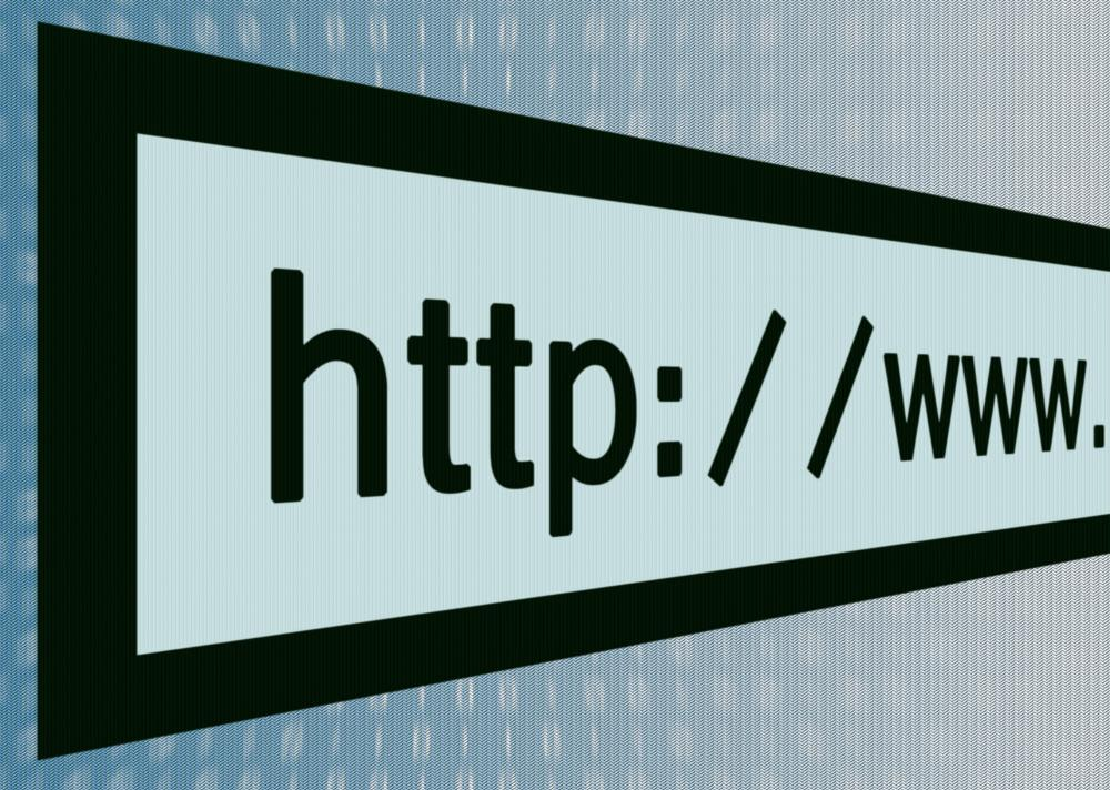 An anonymous url shortens a website address allowing users to share