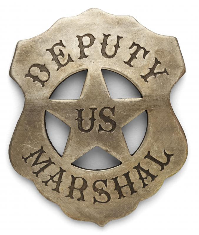 Employment in the public sector may include work as a U.S. Marshal.