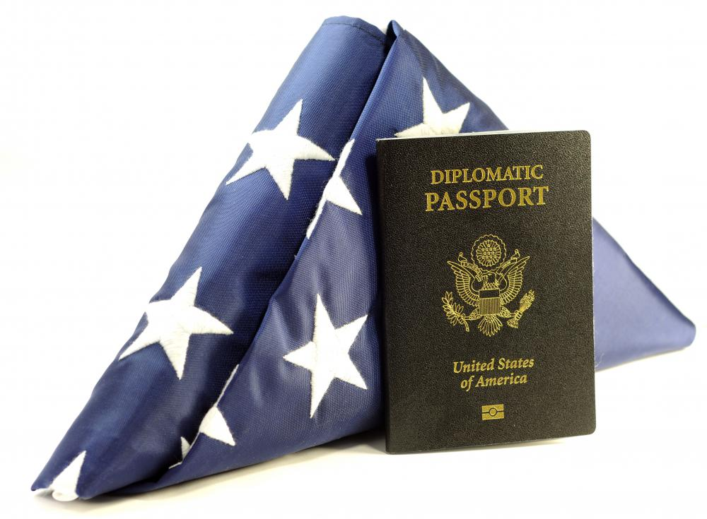 People traveling on official state business for a country are issued a diplomatic passport.