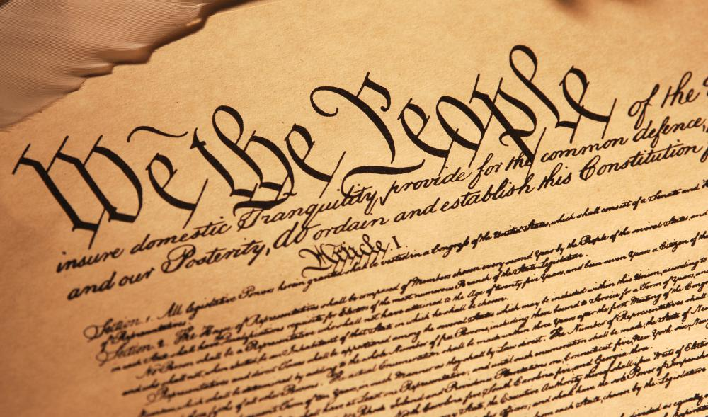 The Bill of Rights, which includes the First Amendment, was written to enumerate personal freedoms and rights that were not expressly described in the U.S. Constitution.