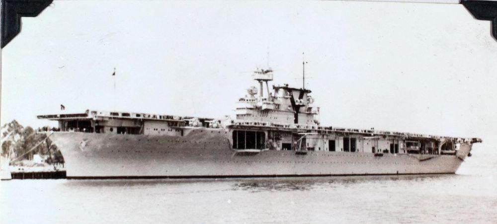 The USS Yorktown was sunk by the Japanese at the Battle of Midway, six months after the attack on Pearl Harbor.
