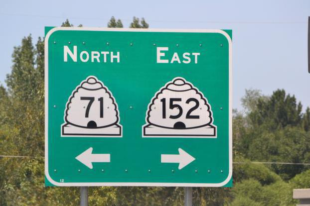 The beehive symbol can be seen on Utah's state highway signs.