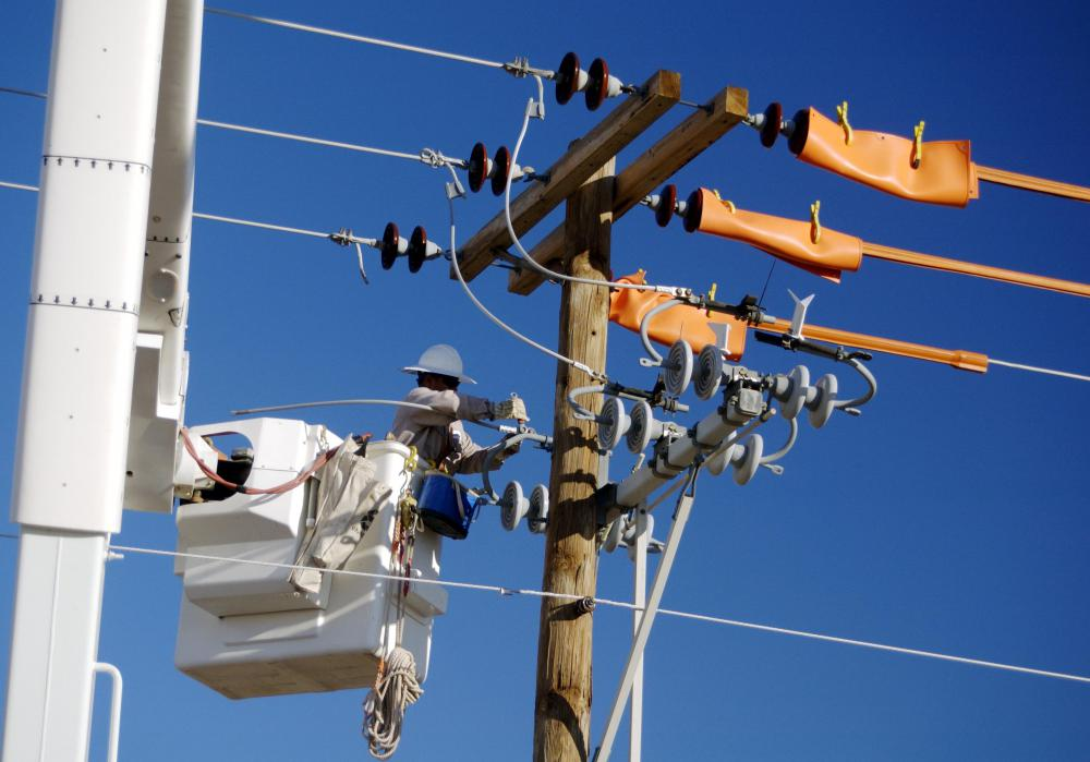 Staying clear of power lines is important for outdoor electricity safety.
