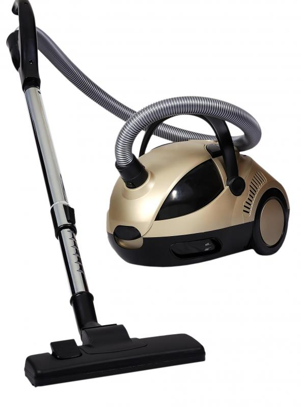 Vacuum Cleaner Against White Background