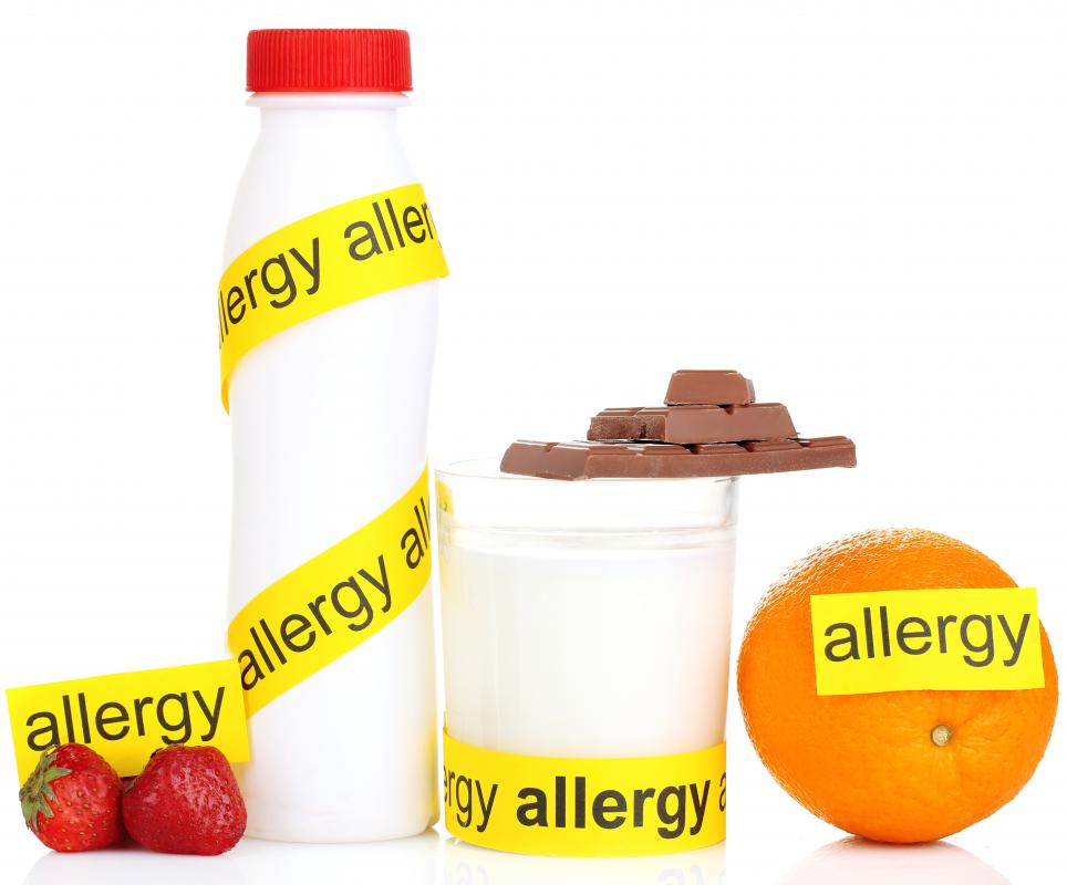 Food allergies can cause inflammation of the colon leading to decreased water absorption and watery stools.