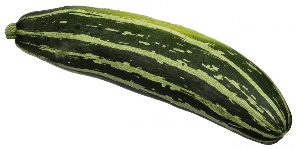 Vegetable marrow is a green summer squash with a bland, sweet flavor.