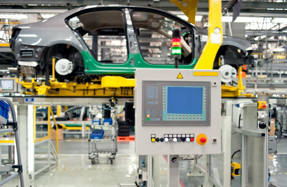 Most assembly plants produce 60 to 100 cars per hour on an assembly line.