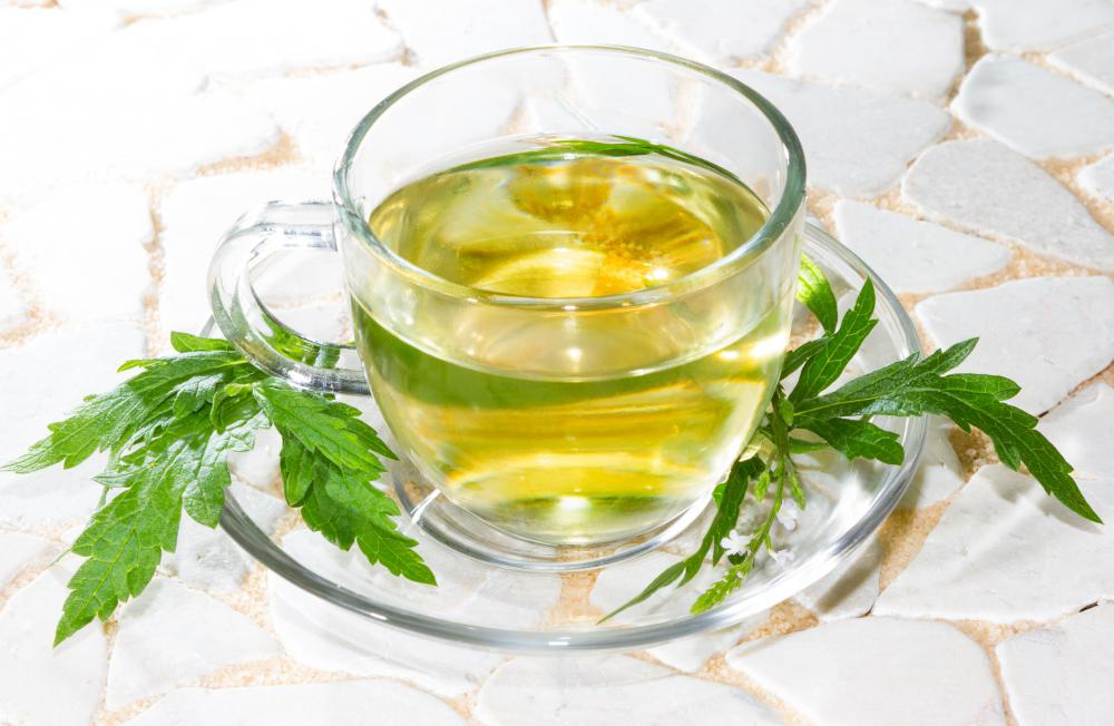 Verbena, or vervain, can be used to make a relaxing tea.