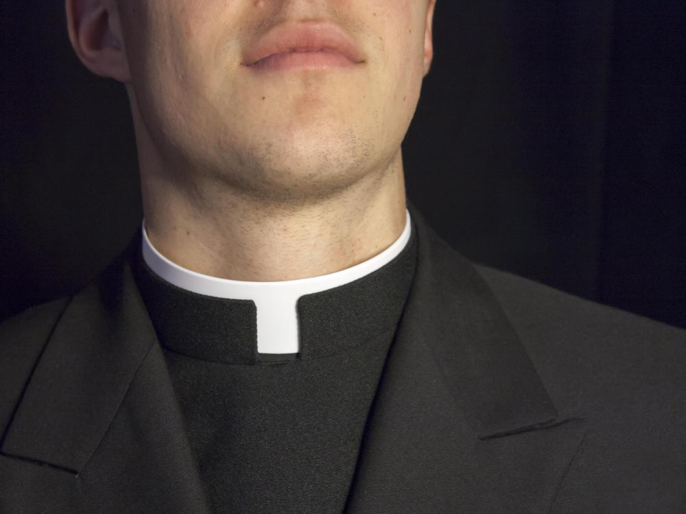 People may be anointed by priests.