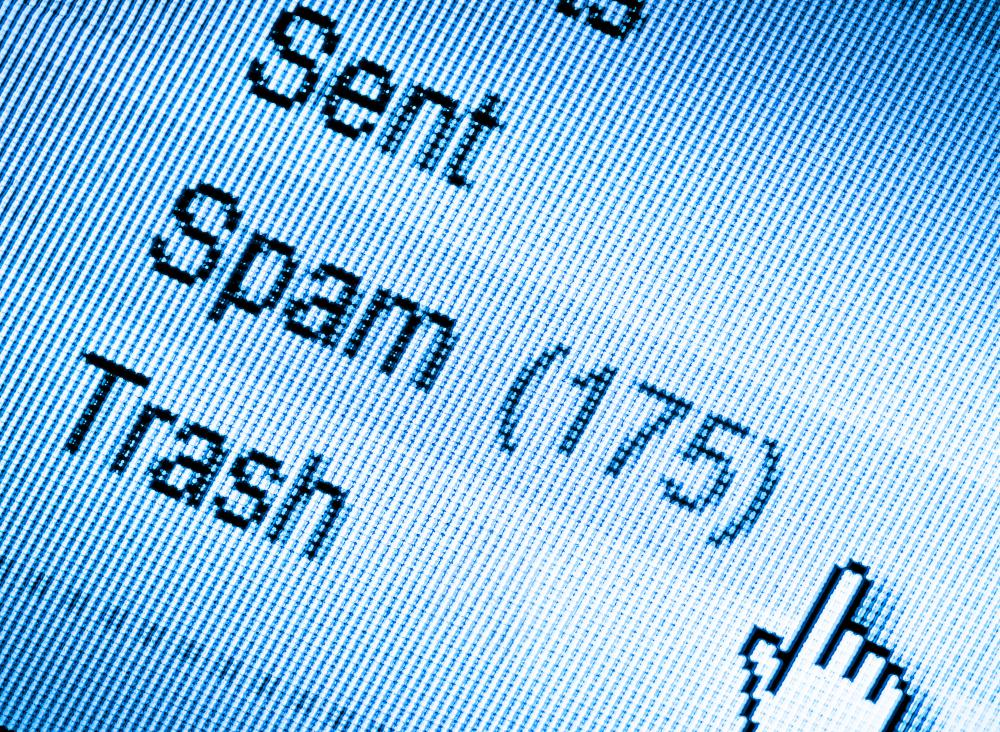 Most email clients have built-in spam filters that route unwanted emails into a quarantined folder.