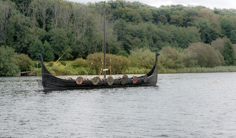 Vikings were advanced for their time in shipbuilding.