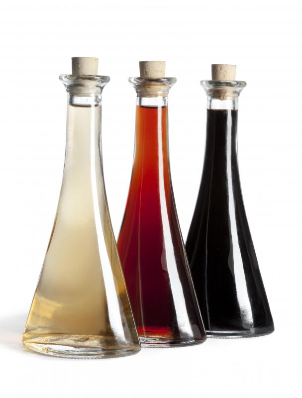 White balsamic vinegar is lighter in color than traditional balsamic vinegar.