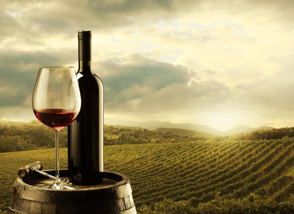 Wine producers make, bottle, distribute and sell wine.