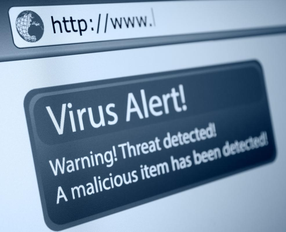 Making sure to regularly check computers for viruses can help prevent identity theft.
