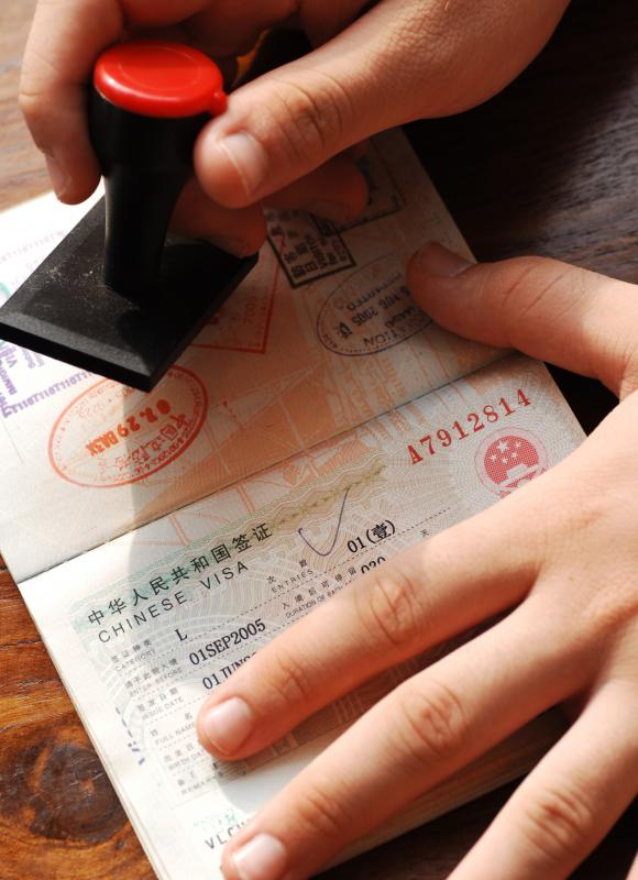 In some countries, a residence permit may be connected to a person's passport.