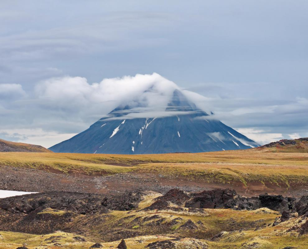 Geologists may study the formation of volcanoes.