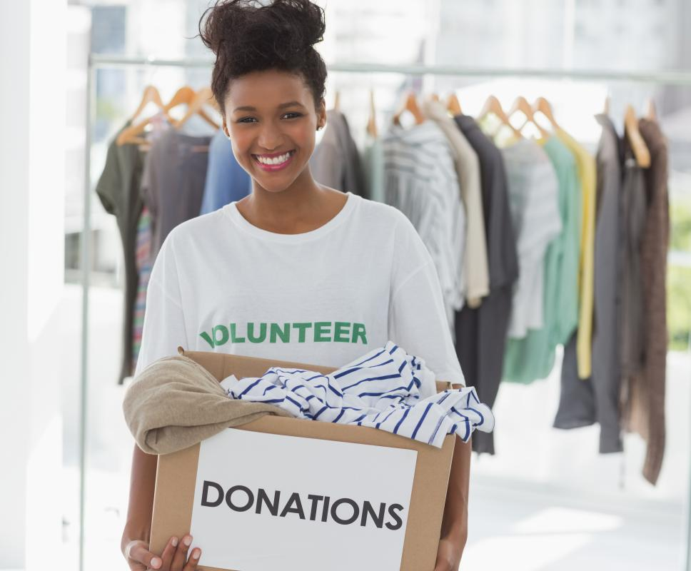 Non-profit networks can help with the coordination of volunteers.