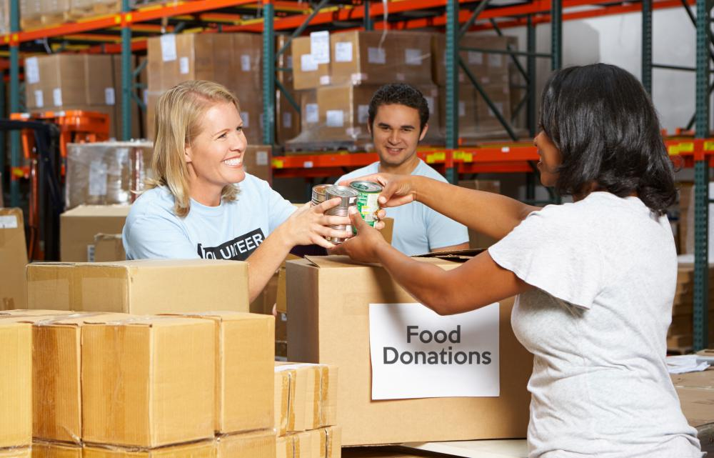 Philanthropy is the act of donating, whether that's food, money or time.