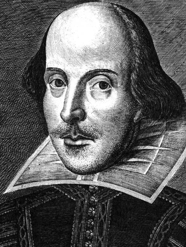 William Shakespeare used iambic pentameter in some of his poems and plays.