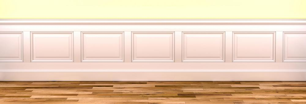 Paneling That Has Been Installed On The Lower Part Of An Interior Wall Is  Referred To As Wainscot.