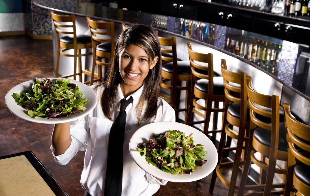 A waitress is now commonly called a server, a more gender neutral term.