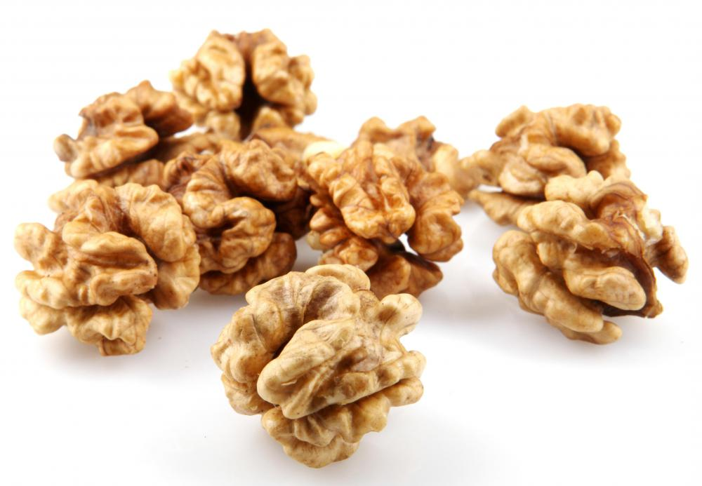 Walnuts are rich in alpha-linolenic acid.