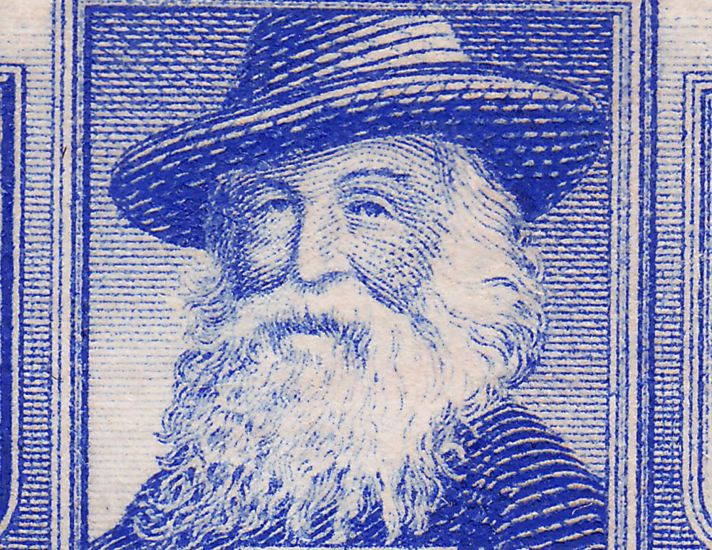 Walt Whitman wrote in free verse.