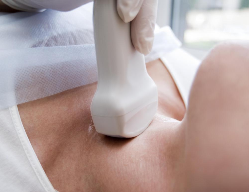Ultrasound transducers can be used on many areas of the body.