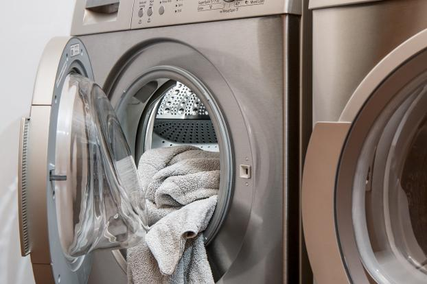 The lint filters in household dryers are typically made from wire gauze.