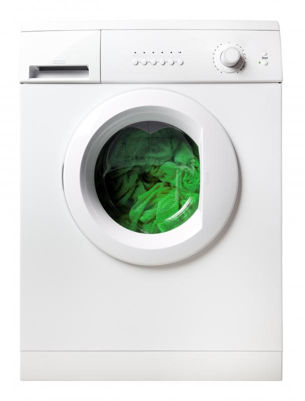 A washing machine, a type of electric machine.
