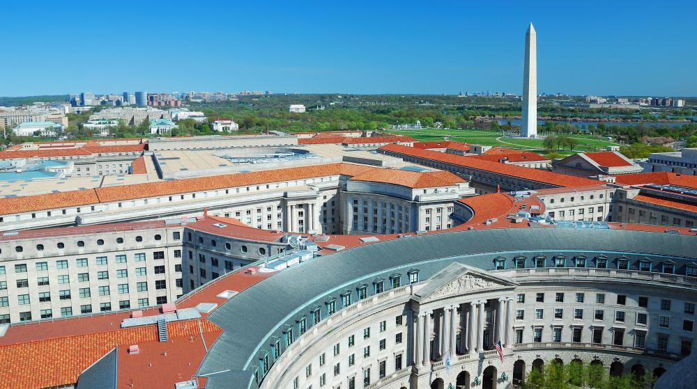 Washington D.C. was found to have the most pavement with the least amount of green space.