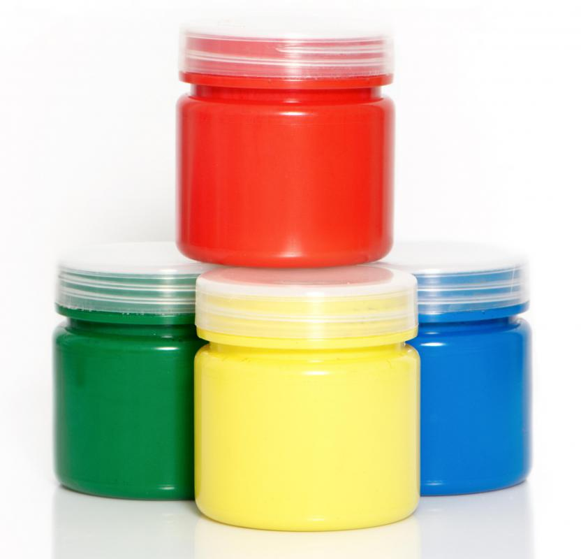 Acrylic paint can be used when making homeade party favors..