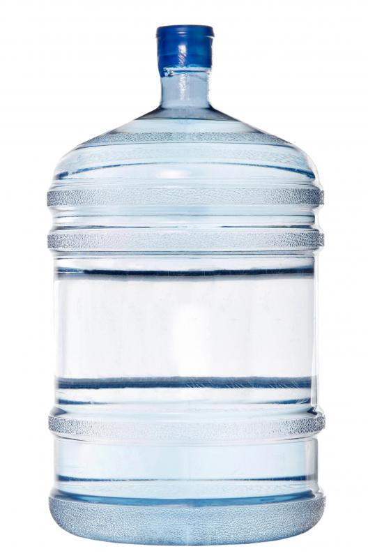 Water cooler bottles can often be refilled, rather than thrown away, helping to make them more eco-friendly.