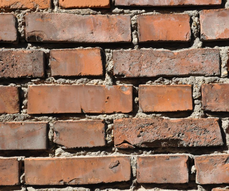 Brick is a popular type of patio paving stone.