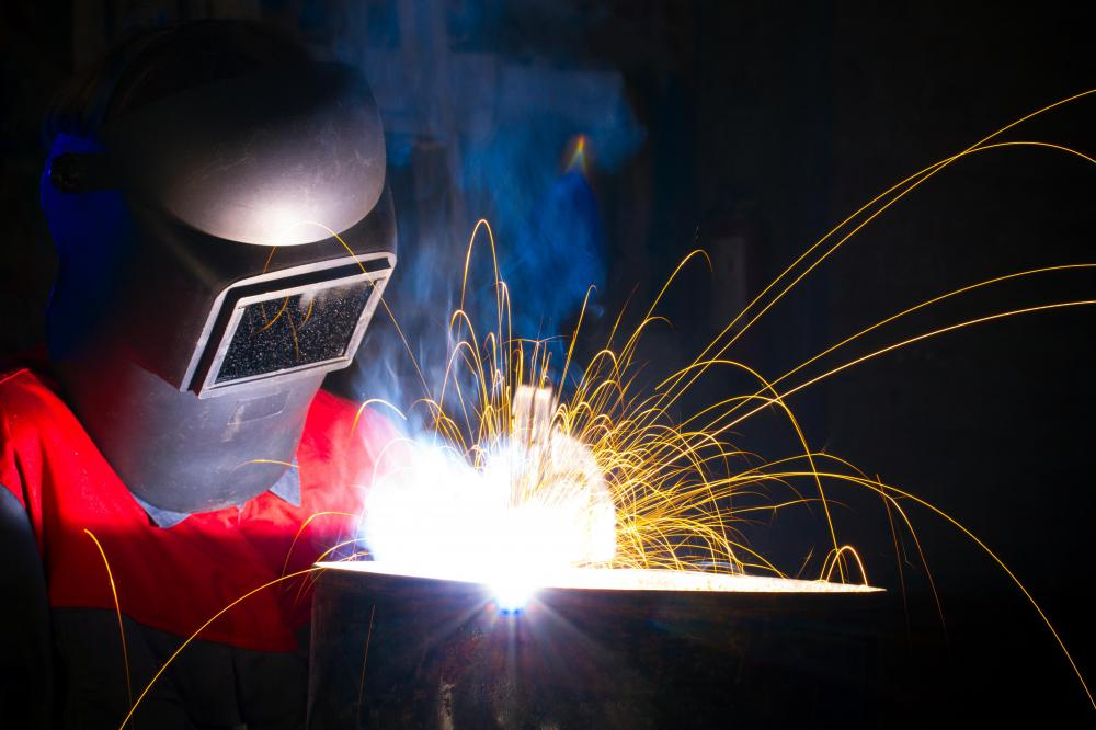 Welders who do not wear eye protection may develop arc eye.