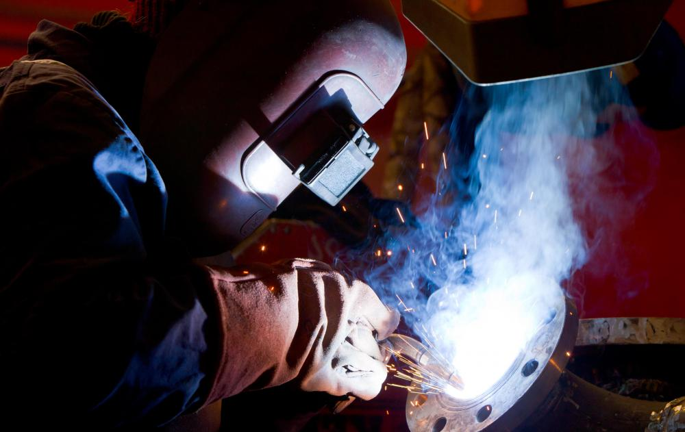 There are various types of welding.
