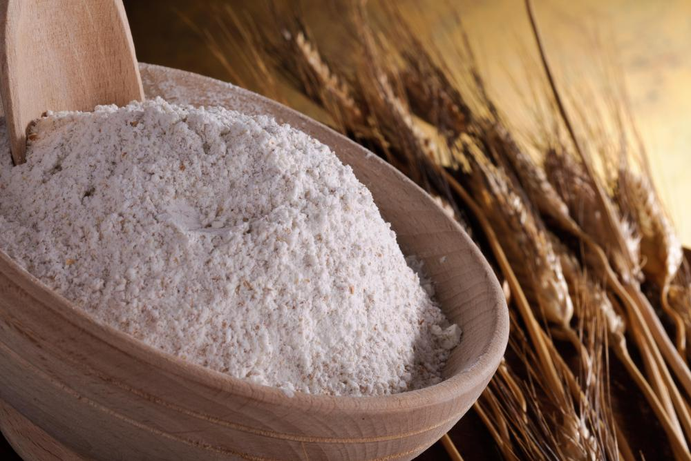 Those with a gluten intolerance must avoid wheat flour and a number of other products.