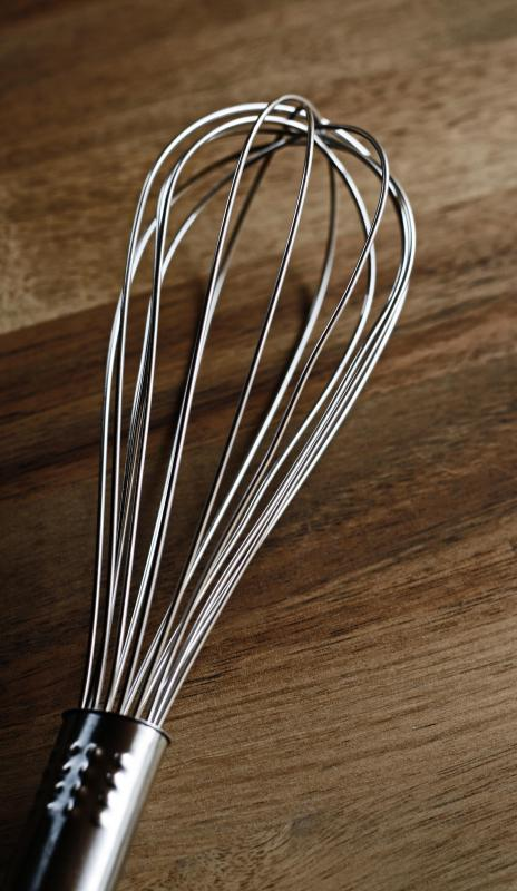 A whisk may be helpful in making scrambled eggs.
