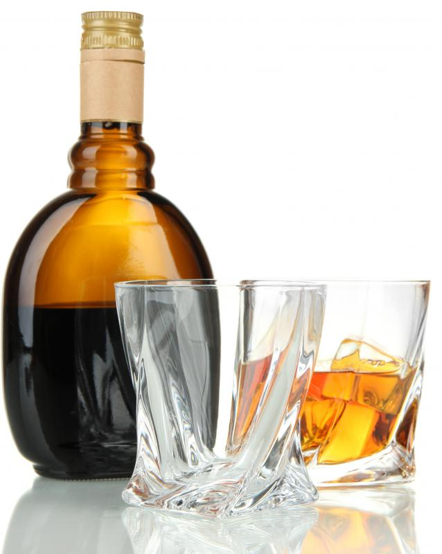Bourbon is a type of whiskey common in the American South.