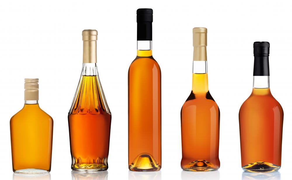 Ethyl alcohol commonly found in whiskey and other alcoholic beverages.