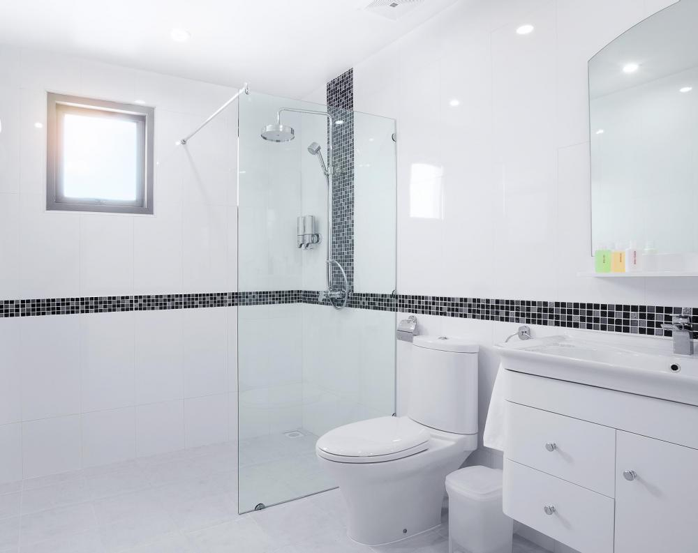 modern contemporary bathroom tile patterns can typically be achieved